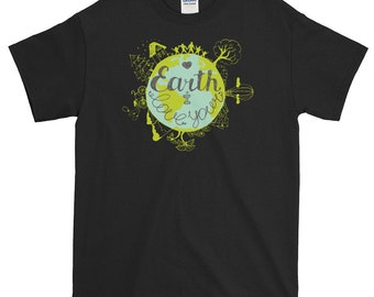 Love The Earth Earth Day Lovers Green Gift T shirt
