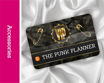 VIP Punk Lifetime Membership Card