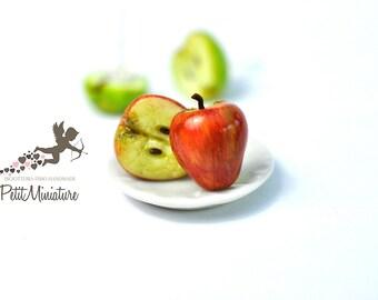 Orecchini fimo mela orecchini fatti a mano gioielli cibo bijoux handmade fimo creazioni fimo dolci gioielli artigianali  fimo