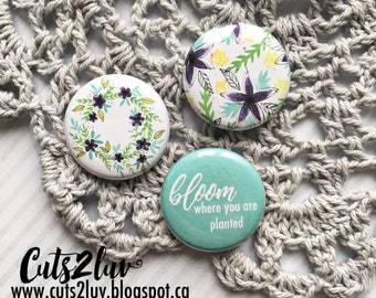 "3 buttons 1 ""Bloom"