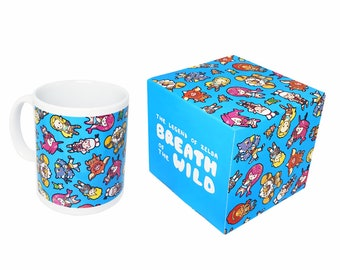 Breath of the Wild Pattern ~ The Legend of Zelda ~ Mug and Box Set
