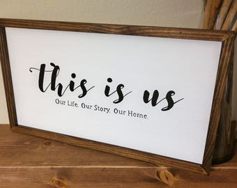 this is us (Our Life. Our Story. Our Home.)
