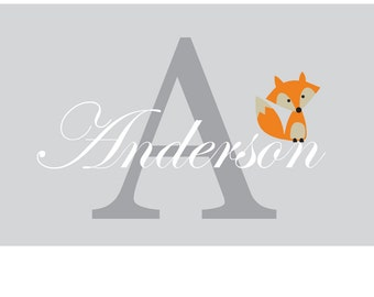 Kids wall decals / initial decal / monogram / name decals / vinyl wall decal / wall decals / Nursery wall decal / child's name decal /