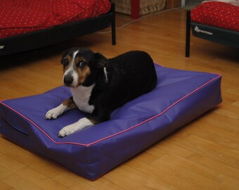 Waterproof Bed Cover, Incontinence Beds, Dog Bed, Cat Bed, Outside Replacement Pillow Cover, Duvet Waterproof Liner 28x42x4, 16 Colors.