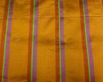 Silk Orange stripes