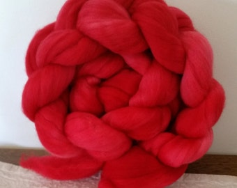 Wool Roving- On Fire