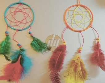 3inch Dreamcatcher (Made to YOUR colour choice)