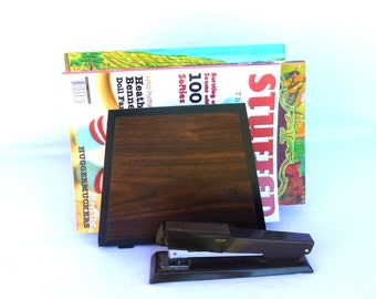 MOD VINTAGE OFFICE Collection/ Stapler and Organizer