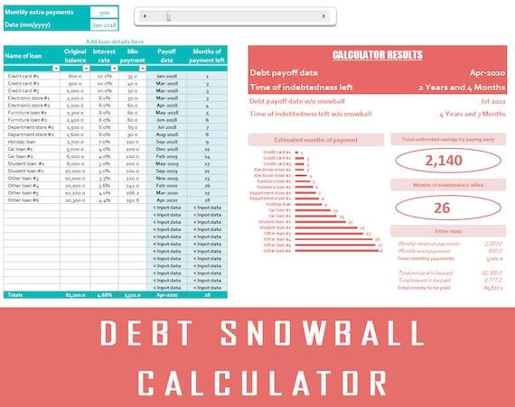 Debt Snowball Debt Calculator Dave Ramsey Debt
