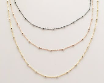 Sparkly Layering Necklace