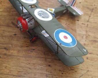 Model airplane ww1