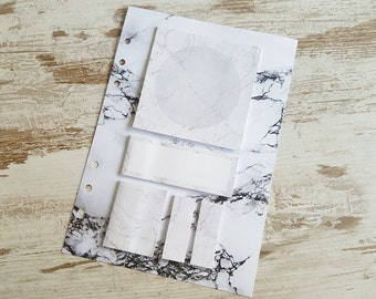 A5 stickynotes dashboard marble