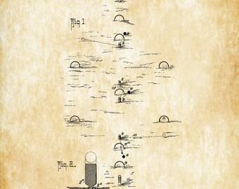 Croquet Game Patent - Patent Print, Wall Decor, Croquet  Art, Croquet Poster, Croquet Game Patent, Croquet Fans, Game Patent, Sport Patent