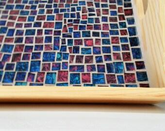 mosaic inlaid tray
