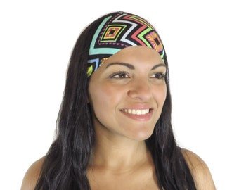 Bohemian Headband Running Headband Yoga Headband Fitness Headband Workout Headband No Slip Headband Wide Turban Gym Gear Women Headband S232