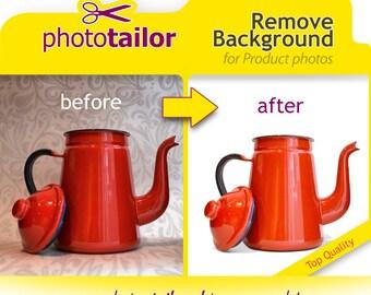 Remove Background, Photo Editing, Photoshop Photo retouching. White or Transparent Background. Product Photo Edit Cutout ideal for eshops