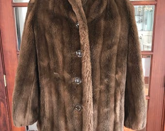 Vintage Faux Fur Coat Style Ltd