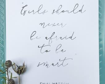 Fierce Women: Smart Girls - Emma Watson