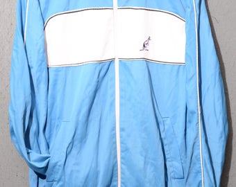 Australian-Tracktop 80s casual tennis jacket TG 50 E12