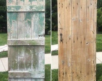 Salvaged Patina Vintage Barn Door