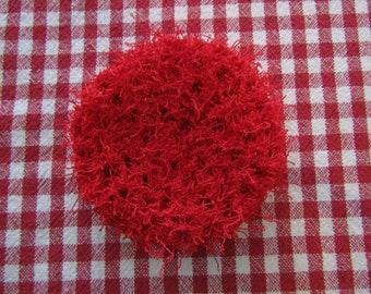 Handmade Crocheted Dish Pan Scrubby