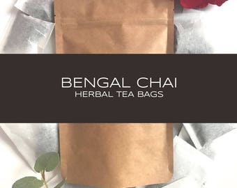 Bengal Chai Herbal Tea Bags