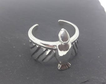 Sterling Silver Sparrow Ring
