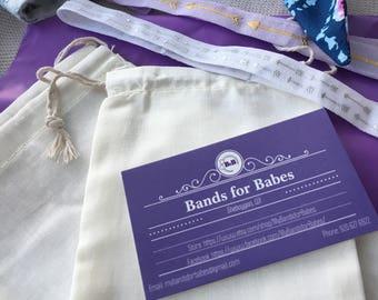 Surprise Bag! - 3 Elastic Headbands (plain)