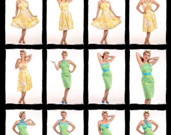Hawaiian Print Vacation Dress