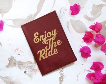 Travel journal, Leather journal, Refillable leather notebook, Travel notebook, leather journal cover, refillable journal