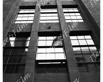 Artist Signed Photo Print ' Glass Stories ' - NYC New York Collection Photography 12 X 18 inches
