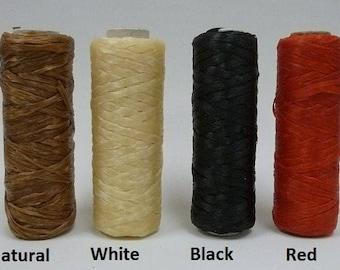SINEW BOBBIN Sinue wax thread beading craft artificial bead fringe loom weave