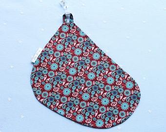 Maroon Flower breastfeeding cover