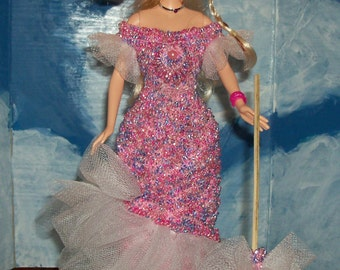 Barbie in 1899 Mae West Costume ORDERS ONLY