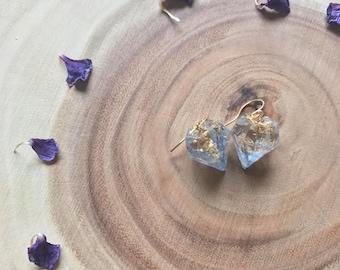 Blue Bells Kyanite Crystal Earrings