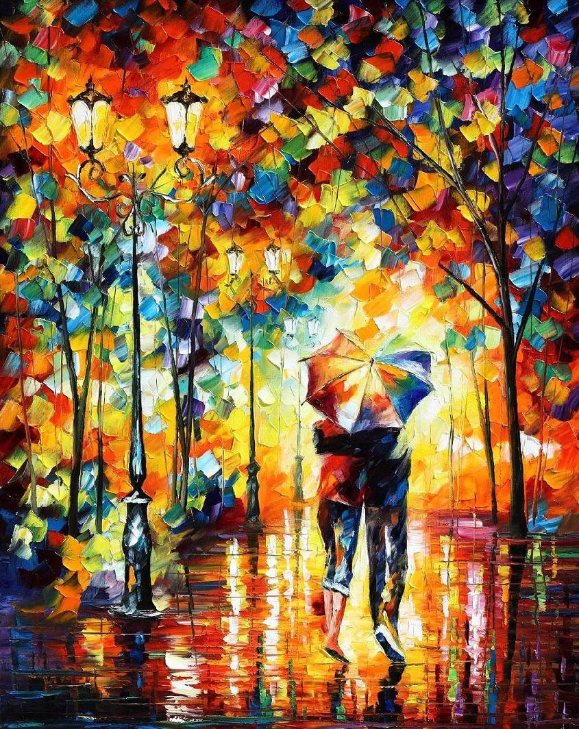 Home Wall Decor Oil Painting On Canvas By Leonid Afremov
