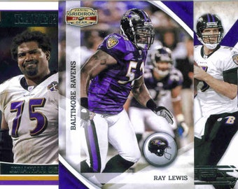 BALTIMORE RAVENS Football Team Lot - 150 Assorted Cards