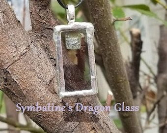 Silver Frame- pendant only