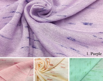 Slub Jersey Knit Fabric - 2428PR