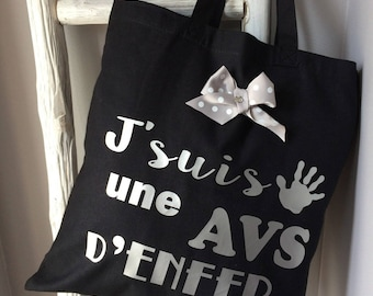 The tote bag special end of year for AVS