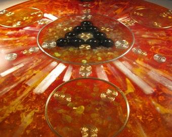 Orgone Shungite and Moonstone Mandala