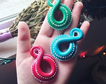 Polymer Pendant - Tentacle