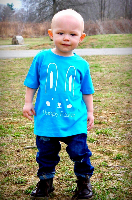 Boys Easter Shirt Boy Easter Bunny Shirt Easter Bunny Shirt