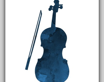 Brand-new Violin wall art | Etsy TP37