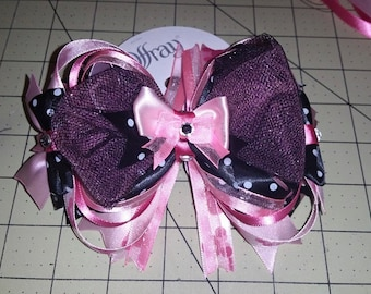 Minnie Mouse Over-the-Top Hairbow