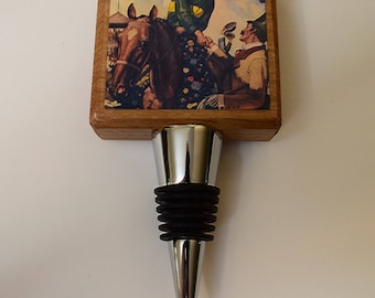 Kentucky Derby Winner's Circle Bottle Stopper