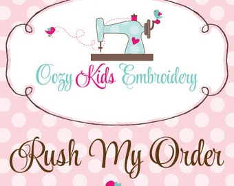 Rush Fee per item (1, 2, or 5 business day turn around time, DOES NOT include shipping time)