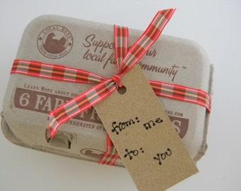 Egg carton boxes (6 egg count each) , gift box, mini cupcake box, pulp container