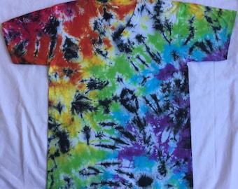 Black and rainbow tshirt