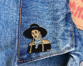 Bey Formation Pin, Hard Enamel Pin, Jewelry, Art, Artist, Gift (PIN116)